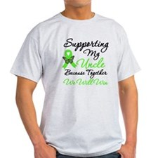 Lymphoma Support (Uncle) T-Shirt