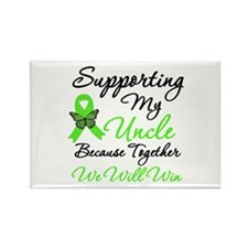 Lymphoma Support (Uncle) Rectangle Magnet