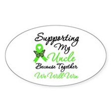 Lymphoma Support (Uncle) Oval Decal