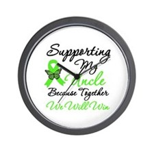 Lymphoma Support (Uncle) Wall Clock
