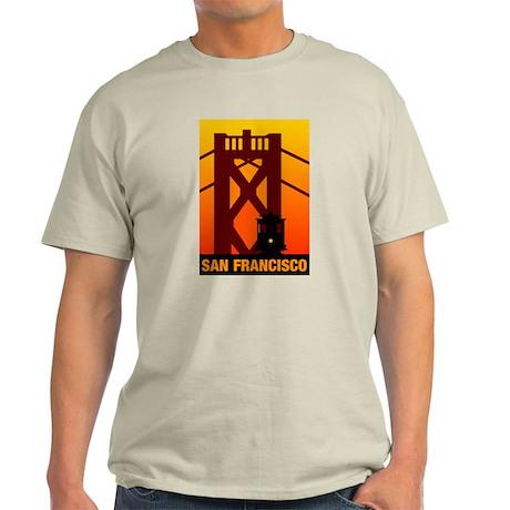San Francisco Ash Grey T-Shirt