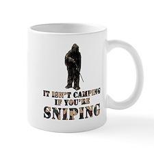 Isn't camping if ur Sniping Small Mug