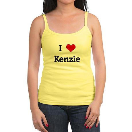 I Love Kenzie Jr. Spaghetti Tank