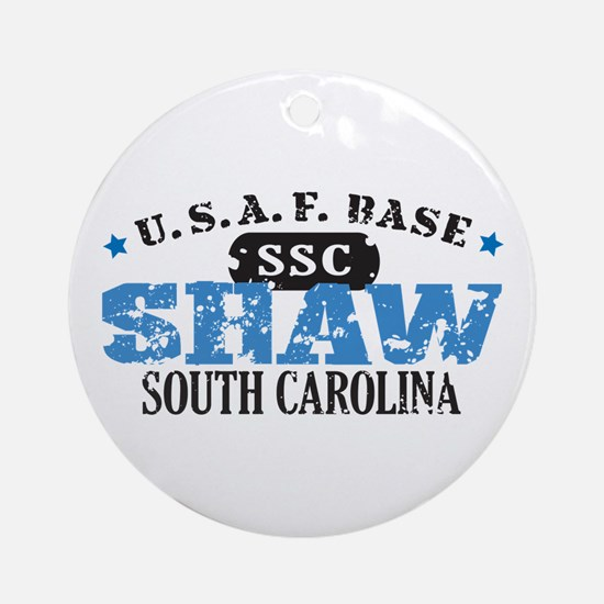 Shaw Air Force Base Ornament (Round)