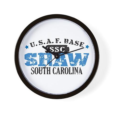 Shaw Air Force Base Wall Clock