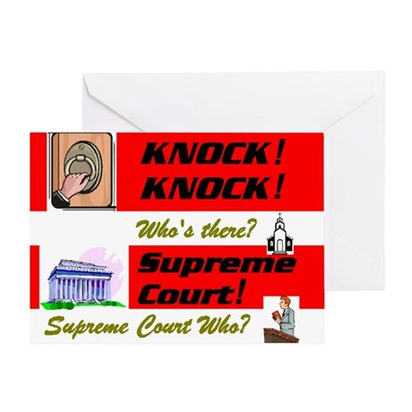 Supreme Court Greeting Cards