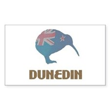Dunedin New Zealand Rectangle Decal
