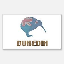 Dunedin New Zealand Rectangle Decal