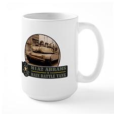 M1 A2 Abrams Tank Mug