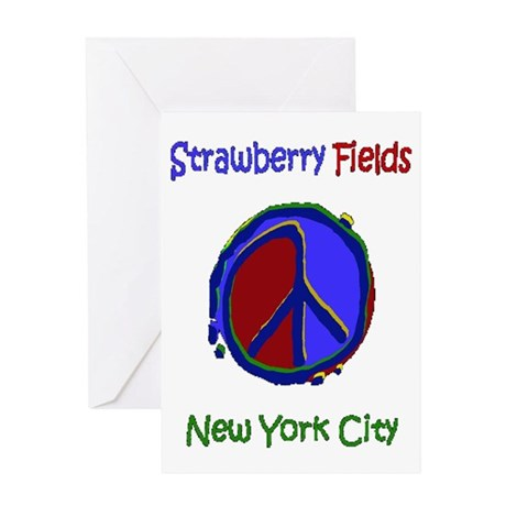 """Strawberry Fields Shirt"" Greeting Card"