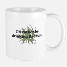 I'd rather be drinking Red Bu Small Small Mug