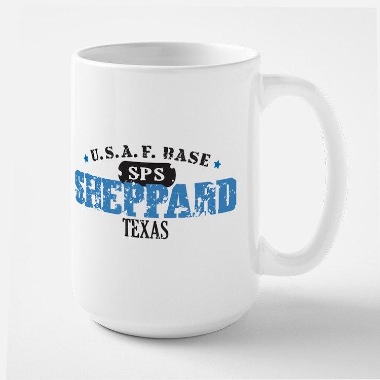 Sheppard Air Force Base Large Mug