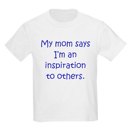 Mom Inspiration Boy Kids Light T-Shirt