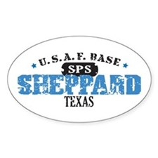 Sheppard Air Force Base Oval Decal