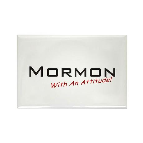 Mormon / Attitude Rectangle Magnet (10 pack)