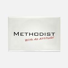 Methodist / Attitude Rectangle Magnet