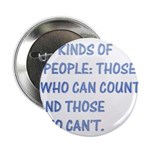 3 kinds of people Button