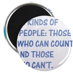 "3 kinds of people 2.25"" Magnet (10 pack)"