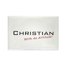 Christian / Attitude Rectangle Magnet (10 pack)