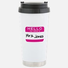 Mrs. Jonas Stainless Steel Travel Mug
