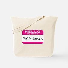 Mrs. Jonas Tote Bag