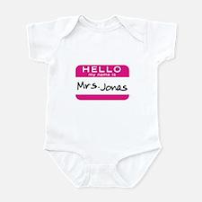 Mrs. Jonas Infant Bodysuit