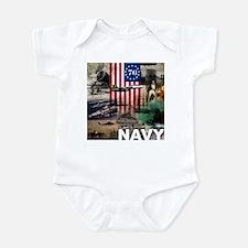 NAVY 1776 Infant Bodysuit