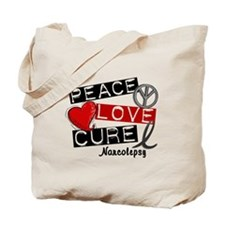 PEACE LOVE CURE Narcolepsy (L1) Tote Bag