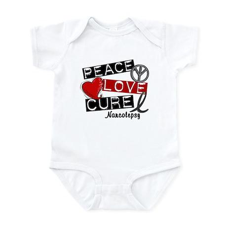 PEACE LOVE CURE Narcolepsy (L1) Infant Bodysuit