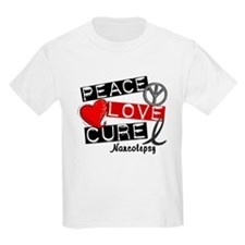 PEACE LOVE CURE Narcolepsy (L1) T-Shirt