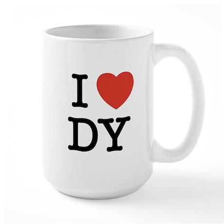 I Heart DY Large Mug