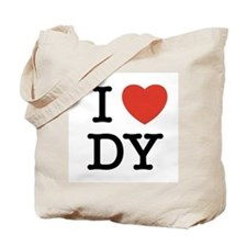 I Heart DY Tote Bag