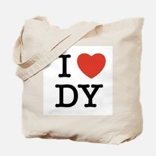 I Heart DY Tote Bag