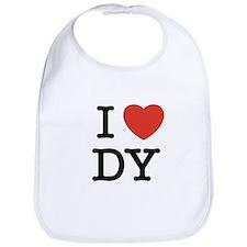 I Heart DY Bib