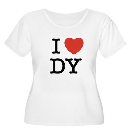 I Heart DY Women's Plus Size Scoop Neck T-Shirt