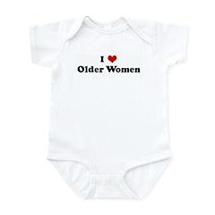 I Love Older Women Infant Bodysuit