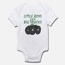 Big Trucks Infant Bodysuit