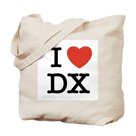 I Heart DX Tote Bag