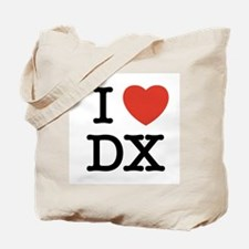 I Heart DX Tote Bag