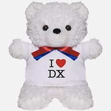 I Heart DX Teddy Bear