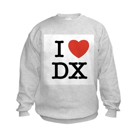 I Heart DX Kids Sweatshirt