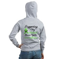 Lymphoma Support (Husband) Zip Hoodie