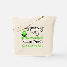 Lymphoma Support (Husband) Tote Bag