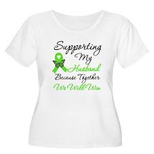Lymphoma Support (Husband) T-Shirt