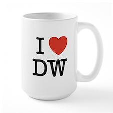 I Heart DW Mug