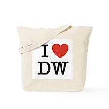 I Heart DW Tote Bag