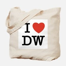 I Heart DW Tote Bag