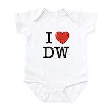 I Heart DW Infant Bodysuit