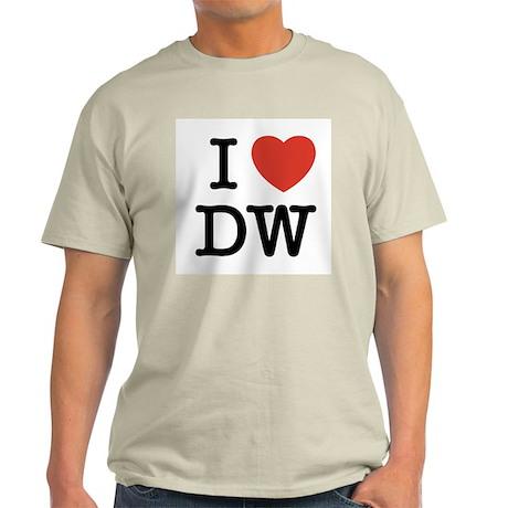 I Heart DW Light T-Shirt