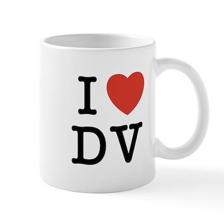 I Heart DV Mug